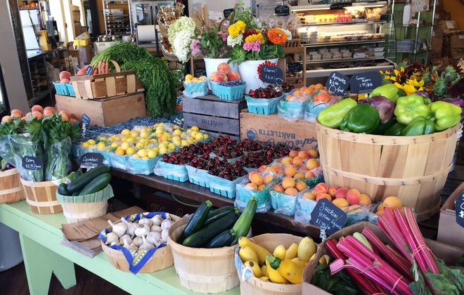 Farmers & Artisans market in Williamsville is a hub for local farm share programs. The store offers many types, including vegetable, soup and flower shares.
