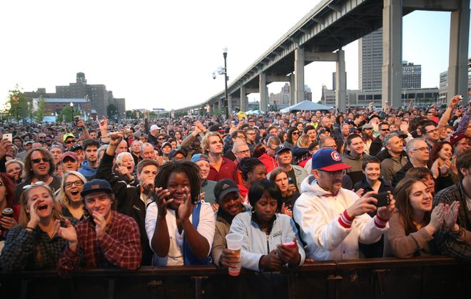 The evolution of the Thursday at the Square concert series to its current home at Canalside is one of the big changes over the past decade on the local music scene. (Sharon Cantillon/Buffalo News file photo)