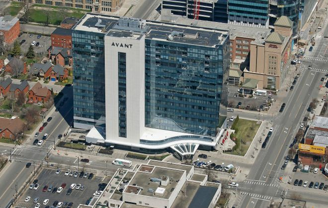 The Avant Building will allow visitors to see views from its upper floors on Saturday during Open Doors Buffalo. (Robert Kirkham/News file photo)