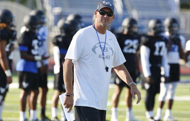 University at Buffalo football coach Lance Leipold (Harry Scull Jr./Buffalo News)