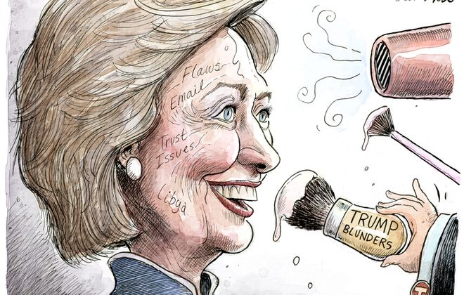 Hillary's flaws