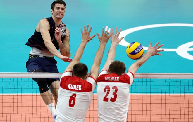 Anderson, U.S. volleyball rise to the occasion