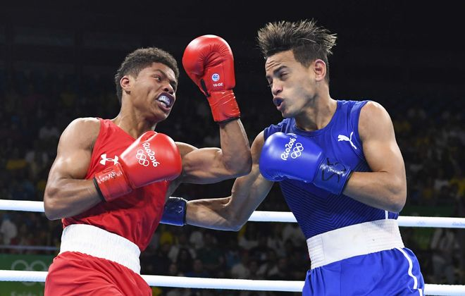 American boxer Stevenson loses to more tested opponent