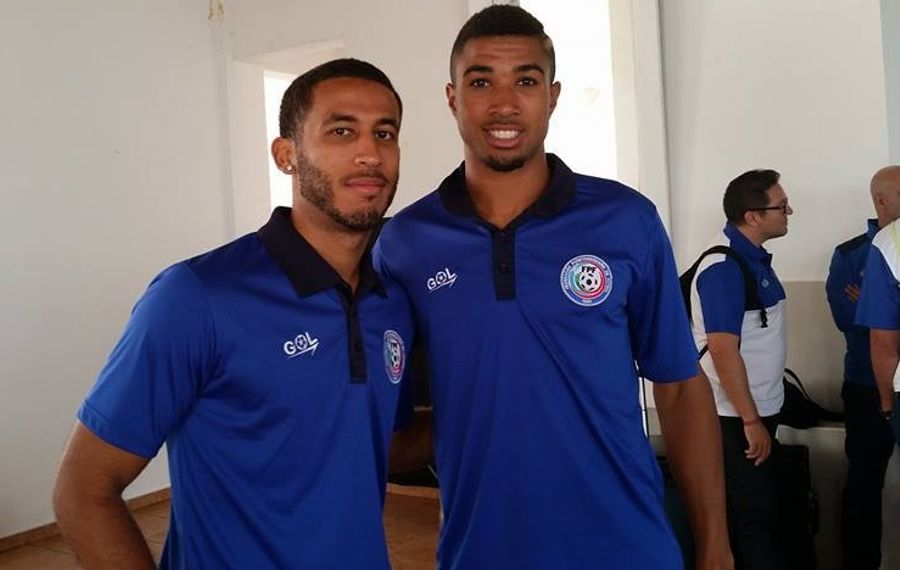 Former Medaille College star Jacob Conde, left, will play his first match for the Puerto Rico men's national soccer team on Sunday. (via Conde)