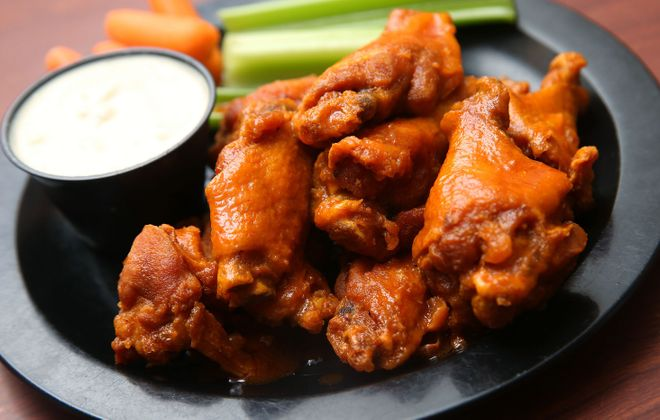 An order of wings from Duff's is a Buffalo standard. (Sharon Cantillon/Buffalo News)