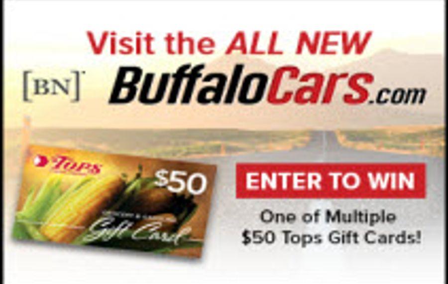BuffaloCars.com Tops Gift Card Giveaway
