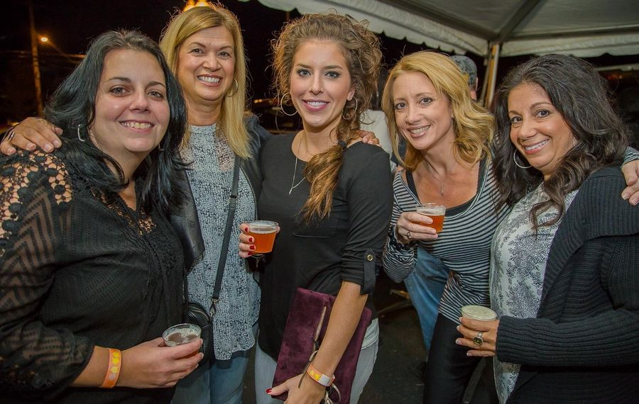 Smiles at Woodcock Brothers WNY Fall Beer Festival