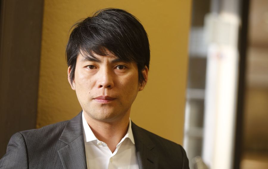 Architect Shohei Shigematsu, from the firm OMA, wants to integrate the Albright-Knox Art Gallery with Delaware Park. (Mark Mulville/Buffalo News)