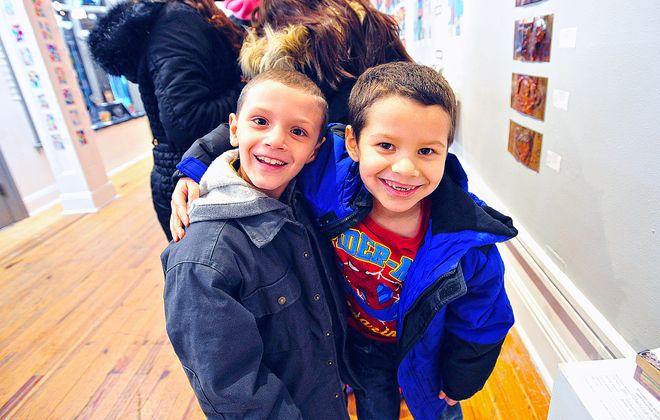 The Boys & Girls Club of Buffalo's annual Fine Art Exhibit at CEPA gallery shows off kids' work undertaken as part of the Griffis Art Program.  (Michael P. Majewski)