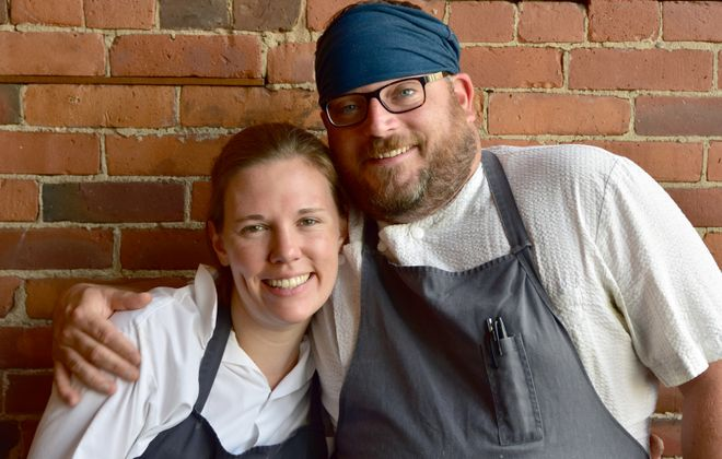 Honorary chairpersons Ellen and Steven Gedra of The Black Sheep will again donate half of the night's proceeds in Dining Out for Life. (John Carocci/Evergreen Health)