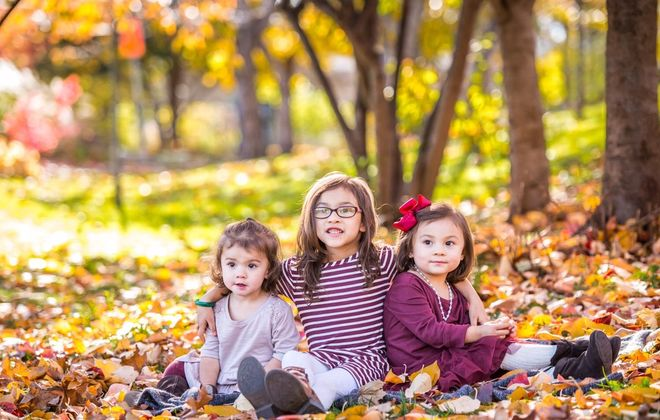 Davide Barone-Vu took this picture of his three adorable kids. (Courtesy: David Barone-Vu)
