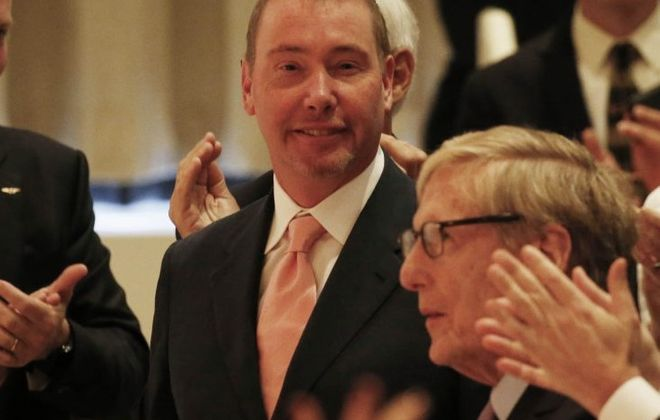 Billionaire Jeffrey Gundlach pledged $42.5 million to the Albright-Knox expansion project. (Derek Gee/Buffalo News)