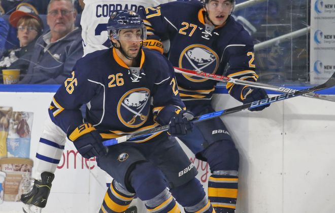 Derek Grant had six points in six exhibition games for the Sabres.