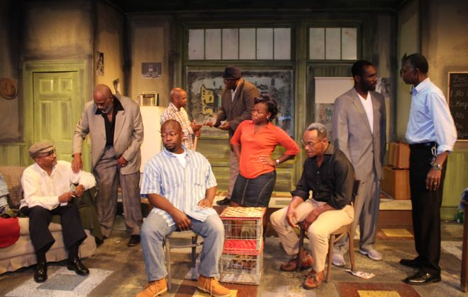 """Jitney,"" part of August Wilson's ""Pittsburgh Cycle,"" is on stage at the African-American Cultural Center's Paul Robeson Theatre."