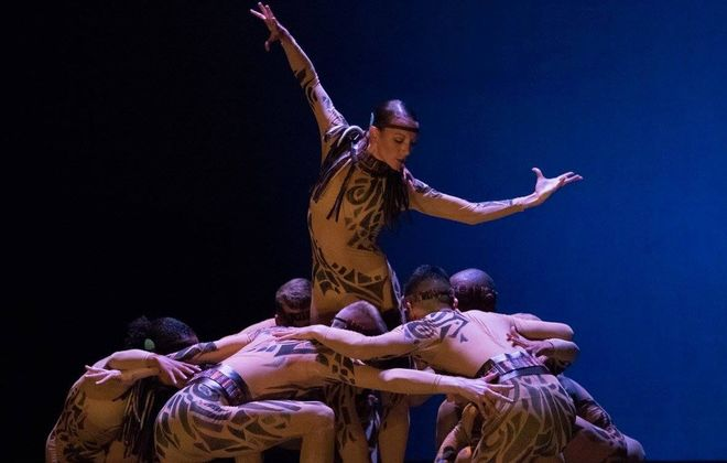 """Chukchi,"" which opened the 10th anniversary concert by Lehrer Dance, was inspired by the Eskimo people of Anadyr, Russia, where the company performed in 2014."