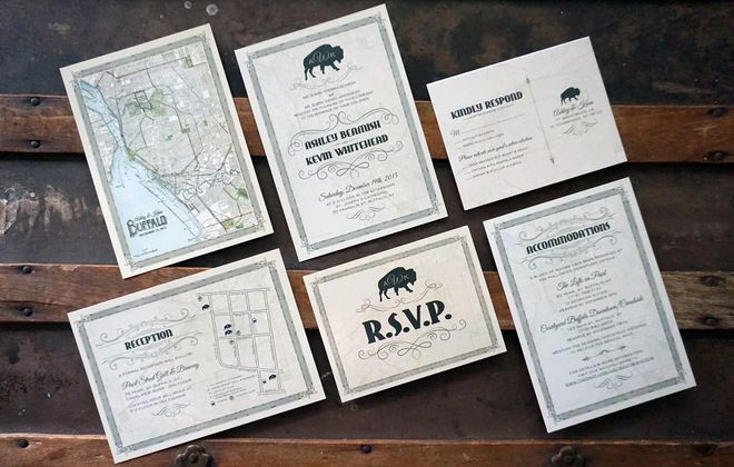 Ashwood Ink wedding invites.