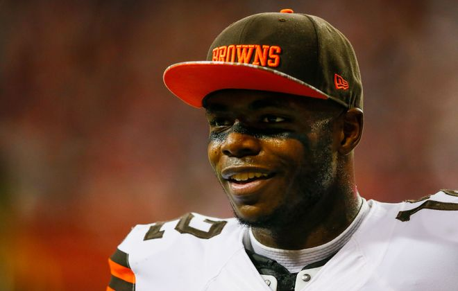 It would be worth it for the Buffalo Bills to investigate what it would take to acquire Cleveland Browns receiver Josh Gordon in a trade. (Getty Images)