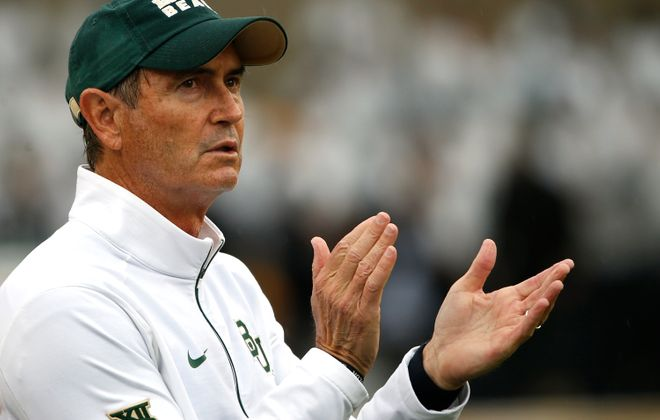 Art Briles' stint as an assistant head coach for the Hamilton Tiger-Cats lasted less than 24 hours. But should it even have lasted that long? (Photo by Ron Jenkins/Getty Images)