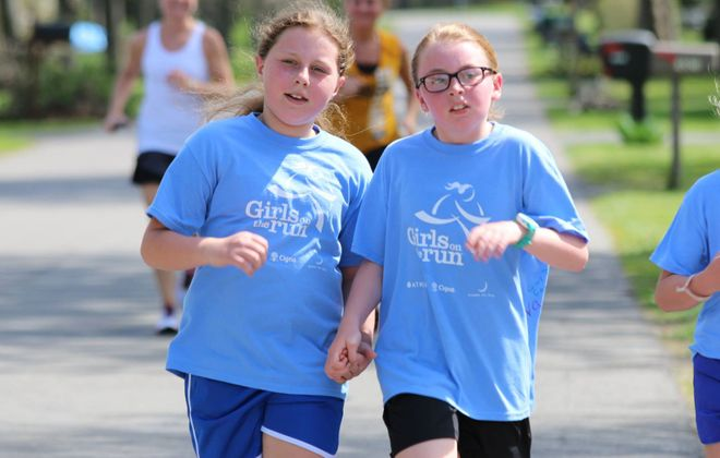 Building confidence: Girls on the Run