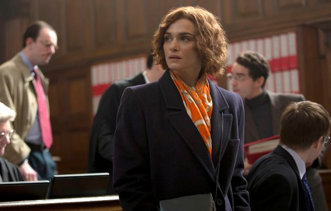 """A special event precedes a  screening of the Holocaust drama """"Denial,"""" starring Rachel Weisz, on Oct. 22 at the Dipson Amherst Theatre."""