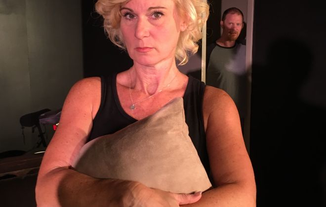 "Lisa Ludwig and Patrick Moltane give riveting performances in ""Extremities"" at Desiderio's Dinner Theatre."