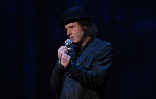 """Steven Wright is known for his two albums, """"I Have a Pony"""" and """"I Still Have a Pony."""" (Photo by Jorge Rios)"""