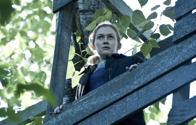 "Mireille Enos stars in ""The Killing. (Carole Segal/AMC)"
