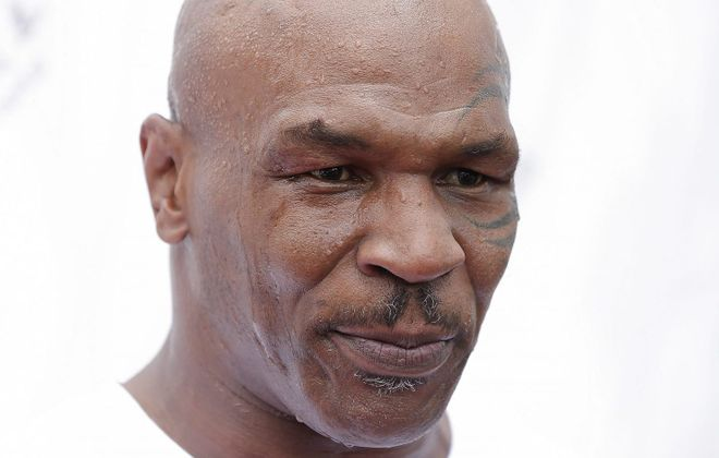 Mike Tyson visited Niagara Falls for a talk on Saturday, Oct. 8, 2016. (Getty Images)