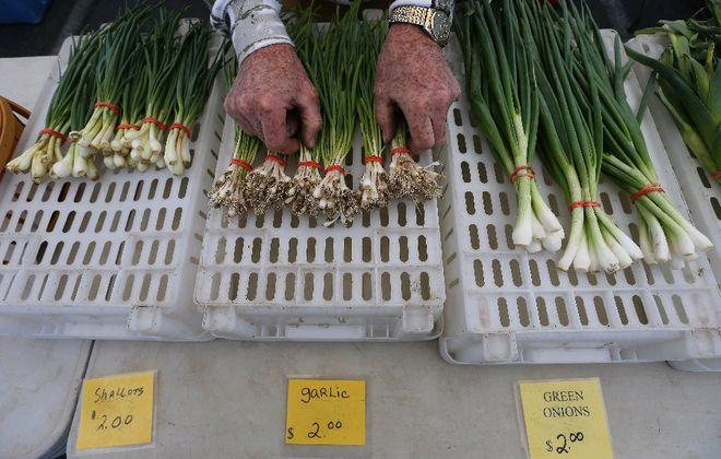 The Kenmore, Williamsville and MAP Mobile farm markets will all mark their last days of the harvest season this week. (Mark Mulville/Buffalo News file photo)
