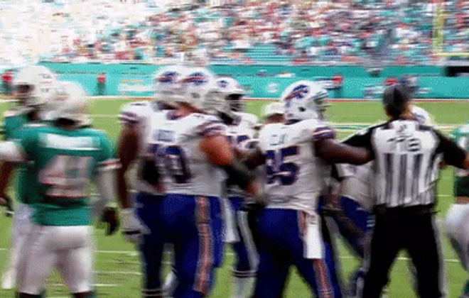 Bills' Richie Incognito, Dolphins' Andre Branch fined for scuffle