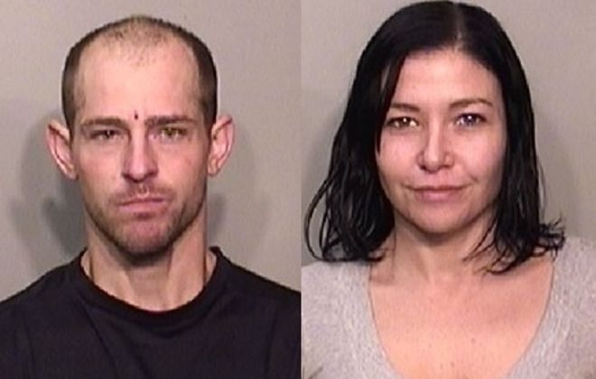 Adam M. Cleary and Elyse Schurkus of Buffalo were charged with a North Tonawanda home invasion. (North Tonawanda police)