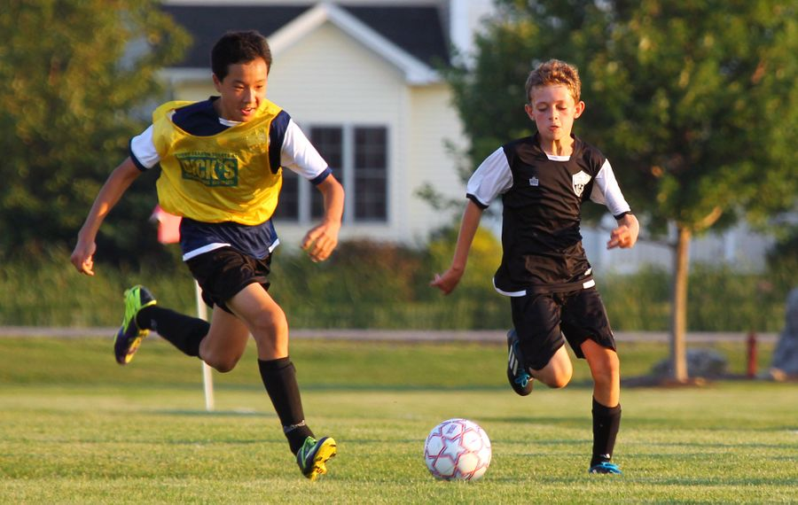 By age 12, up to 70 percent of kids are opting out of organized sports, despite opportunities on house leagues and school teams. (Bill Wippert)