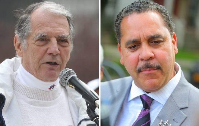 BTF President Philip Rumore, left, and Buffalo Schools Superintendent Kriner Cash. (News file photos)