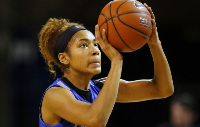 UB freshman Summer Hemphill. (Harry Scull Jr./News file photo)
