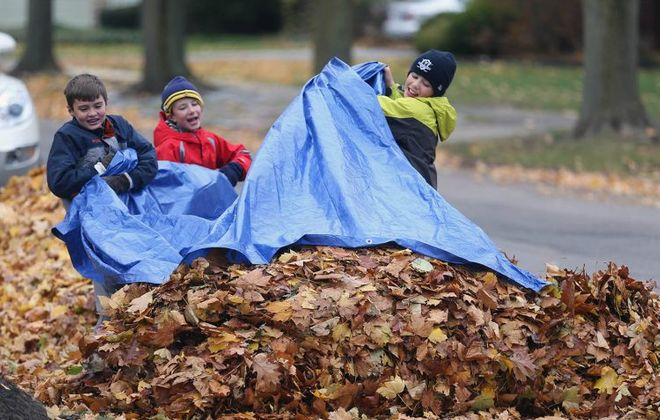 Fallen leaves can create several safety issues this time of year. (Sharon Cantillon/News file photo)
