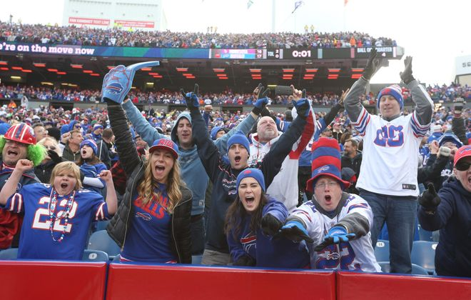 Fans are hoping for a playoff game. (James P. McCoy/Buffalo News)