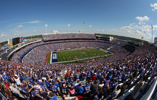 New Era Field opened in 1973 and has undergone many rounds of renovations. Now, some public money earmarked for renovations and maintenance may be earmarked for future stadium planning. (News file photo)