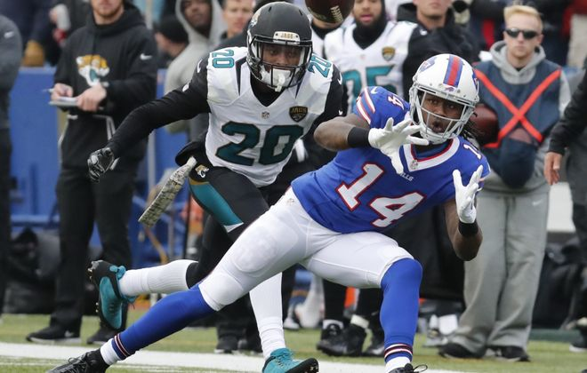 Sammy Watkins was part of two shocking Bills trades on Friday. Here's how Twitter responded. (Harry Scull Jr./Buffalo News file photo)