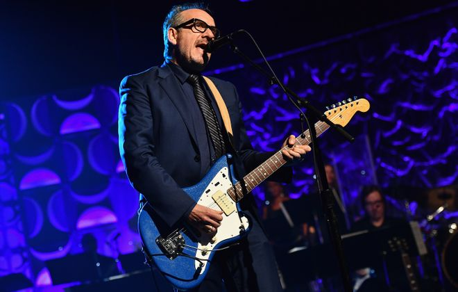 Elvis Costello returns to Shea's Buffalo Theatre. (Getty Images)