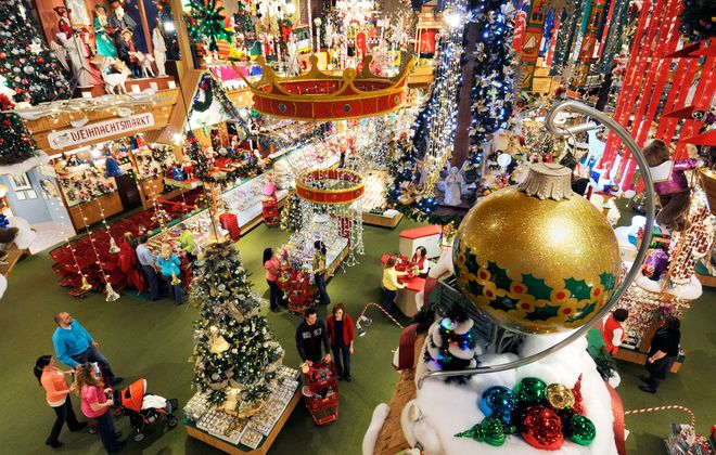 Bronner's Christmas Wonderland offers more than 50,000 holiday-related items to more than 2 million customers each year.