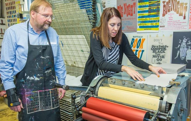Liquor & Letterpress returns for another year. Here's an image from the 2015 event. (Don Nieman/Special to The News)
