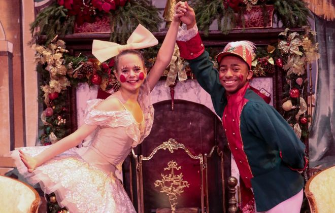 "American Academy of Ballet presents three performances of ""The Nutcracker."""