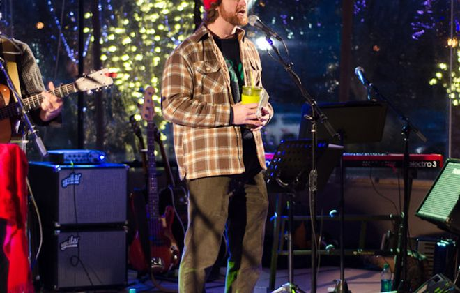 Seamus Gallivan performs as part of last year's Robot Holiday Live @ Larkin event. The 5th annual reprisal of the family-friendly show takes place on December 2.