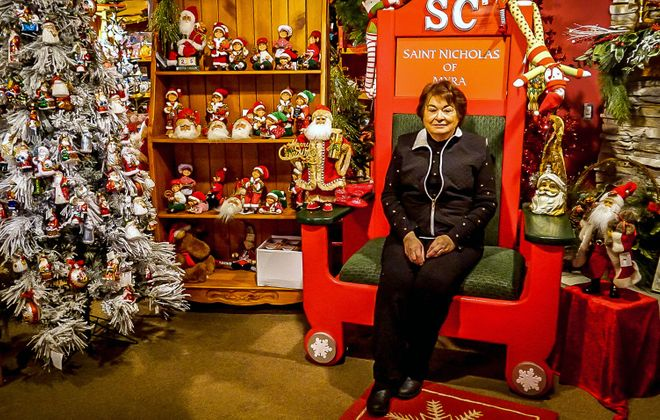 Pat Woyshner has owned her original flower shop since 1960, adding two more stores, including a Christmas decor store, along the way.