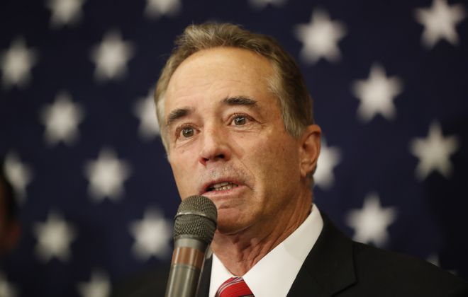 """Rep. Chris Collins said Trump's tax proposal would be a """"very heavy lift"""" to get through Congress. (Harry Scull Jr./Buffalo News)"""