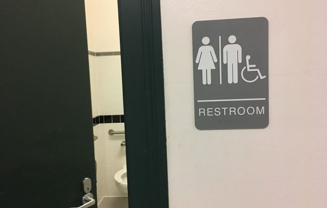Starting Monday, restrooms in court buildings to be based on gender expression