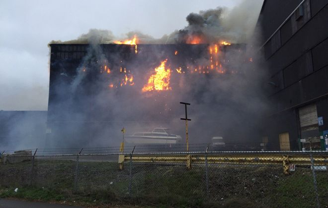 Bethlehem Steel fire timeline