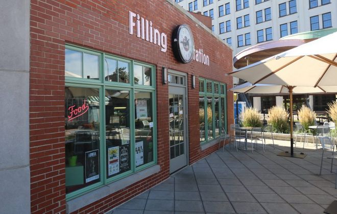 The Filling Station at Larkinville offers a lunch menu from the former chef de cuisine at Rue Franklin. (John Hickey/Buffalo News file photo)