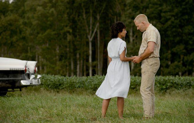 "Ruth Negga and Joel Edgerton in ""Loving."" (Ben Rothstein/Focus Features)"