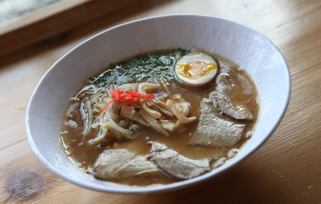 The three SATO locations all offer fine versions of ramen, including the original at SATO Ramen. (Sharon Cantillon/News file photo)